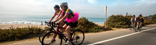 Tour de Pink West Coast